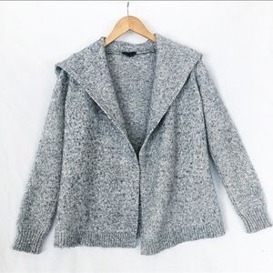 Theory Winxie E Frost Marl Sweater Cardigan